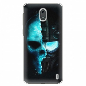 Plastové pouzdro iSaprio - Roboskull - Nokia 2