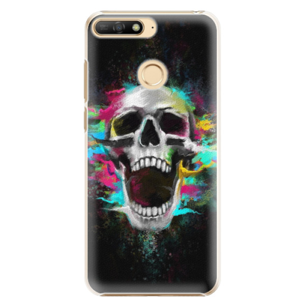 Plastové pouzdro iSaprio - Skull in Colors - Huawei Y6 Prime 2018