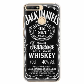 Plastové pouzdro iSaprio - Jack Daniels - Huawei Y6 Prime 2018