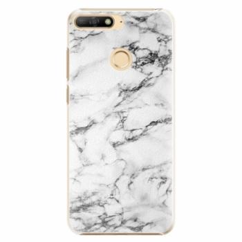 Plastové pouzdro iSaprio - White Marble 01 - Huawei Y6 Prime 2018