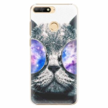 Plastové pouzdro iSaprio - Galaxy Cat - Huawei Y6 Prime 2018