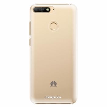 Plastové pouzdro iSaprio - 4Pure - mléčný bez potisku - Huawei Y6 Prime 2018