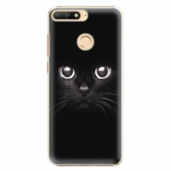 Plastové pouzdro iSaprio - Black Cat - Huawei Y6 Prime 2018