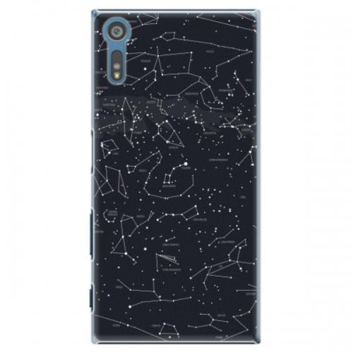 Plastové pouzdro iSaprio - Night Sky 01 - Sony Xperia XZ
