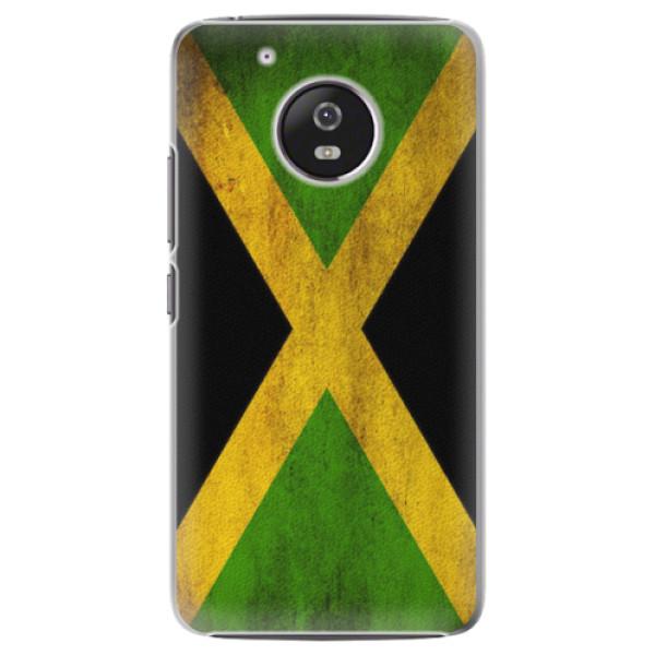 Plastové pouzdro iSaprio - Flag of Jamaica - Lenovo Moto G5