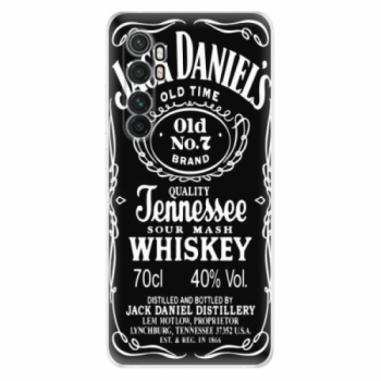 Odolné silikonové pouzdro iSaprio - Jack Daniels - Xiaomi Mi Note 10 Lite