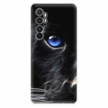 Odolné silikonové pouzdro iSaprio - Black Puma - Xiaomi Mi Note 10 Lite