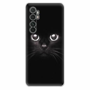 Odolné silikonové pouzdro iSaprio - Black Cat - Xiaomi Mi Note 10 Lite