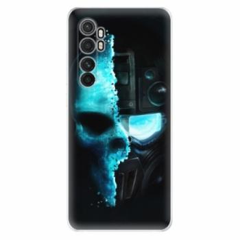 Odolné silikonové pouzdro iSaprio - Roboskull - Xiaomi Mi Note 10 Lite