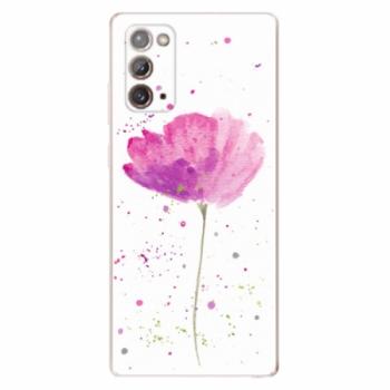 Odolné silikonové pouzdro iSaprio - Poppies - Samsung Galaxy Note 20