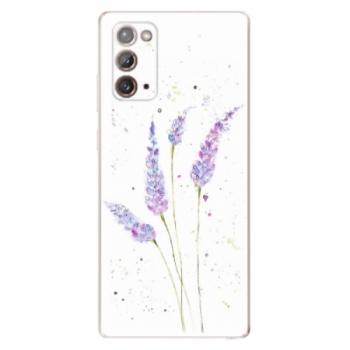 Odolné silikonové pouzdro iSaprio - Lavender - Samsung Galaxy Note 20