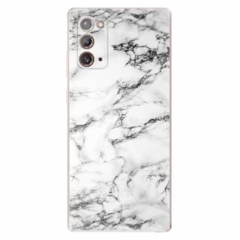 Odolné silikonové pouzdro iSaprio - White Marble 01 - Samsung Galaxy Note 20