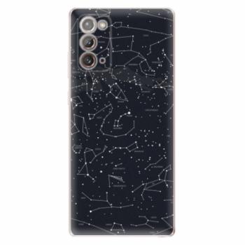 Odolné silikonové pouzdro iSaprio - Night Sky 01 - Samsung Galaxy Note 20