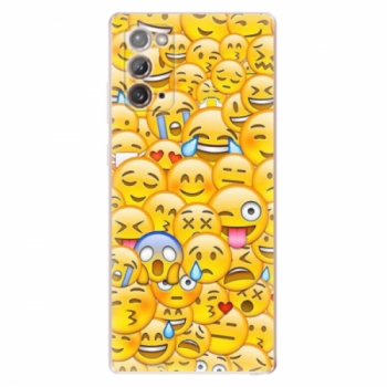 Odolné silikonové pouzdro iSaprio - Emoji - Samsung Galaxy Note 20