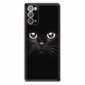 Odolné silikonové pouzdro iSaprio - Black Cat - Samsung Galaxy Note 20