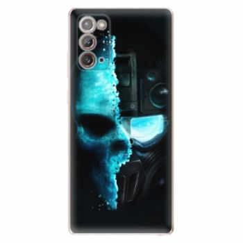 Odolné silikonové pouzdro iSaprio - Roboskull - Samsung Galaxy Note 20