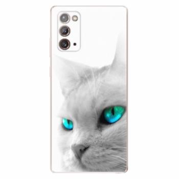 Odolné silikonové pouzdro iSaprio - Cats Eyes - Samsung Galaxy Note 20