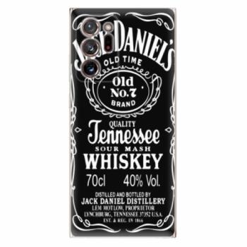 Odolné silikonové pouzdro iSaprio - Jack Daniels - Samsung Galaxy Note 20 Ultra