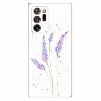 Odolné silikonové pouzdro iSaprio - Lavender - Samsung Galaxy Note 20 Ultra