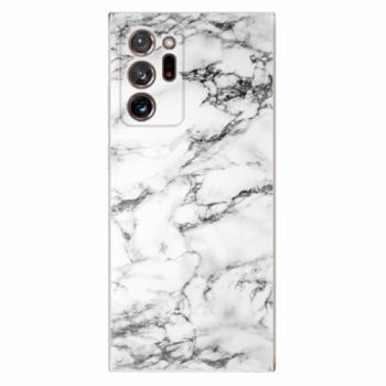 Odolné silikonové pouzdro iSaprio - White Marble 01 - Samsung Galaxy Note 20 Ultra
