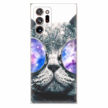 Odolné silikonové pouzdro iSaprio - Galaxy Cat - Samsung Galaxy Note 20 Ultra