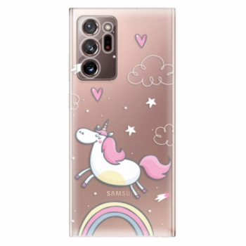 Odolné silikonové pouzdro iSaprio - Unicorn 01 - Samsung Galaxy Note 20 Ultra