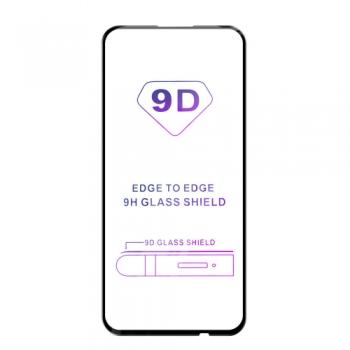Tvrzené sklo iSaprio 9D BLACK pro Huawei P40 Lite E