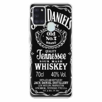 Plastové pouzdro iSaprio - Jack Daniels - Samsung Galaxy A21s