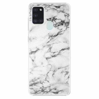 Plastové pouzdro iSaprio - White Marble 01 - Samsung Galaxy A21s