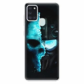 Plastové pouzdro iSaprio - Roboskull - Samsung Galaxy A21s