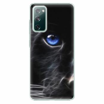 Plastové pouzdro iSaprio - Black Puma - Samsung Galaxy S20 FE