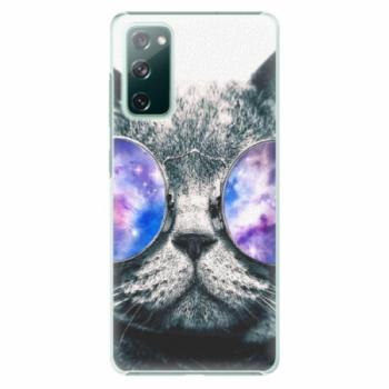 Plastové pouzdro iSaprio - Galaxy Cat - Samsung Galaxy S20 FE