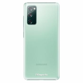 Plastové pouzdro iSaprio - 4Pure - mléčný bez potisku - Samsung Galaxy S20 FE