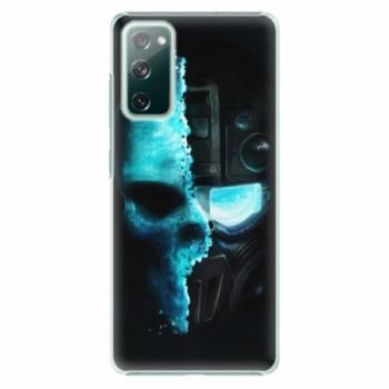 Plastové pouzdro iSaprio - Roboskull - Samsung Galaxy S20 FE