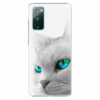 Plastové pouzdro iSaprio - Cats Eyes - Samsung Galaxy S20 FE