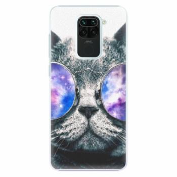 Plastové pouzdro iSaprio - Galaxy Cat - Xiaomi Redmi Note 9