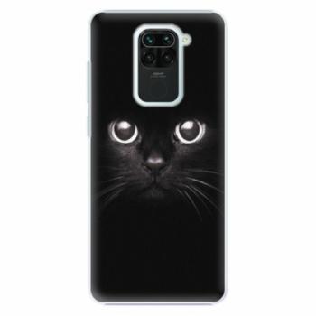 Plastové pouzdro iSaprio - Black Cat - Xiaomi Redmi Note 9