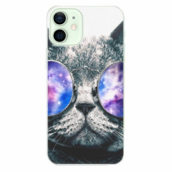 Plastové pouzdro iSaprio - Galaxy Cat - iPhone 12 mini