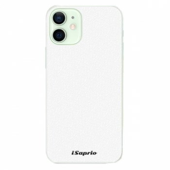 Plastové pouzdro iSaprio - 4Pure - bílý - iPhone 12 mini