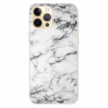 Plastové pouzdro iSaprio - White Marble 01 - iPhone 12 Pro