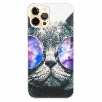 Plastové pouzdro iSaprio - Galaxy Cat - iPhone 12 Pro Max