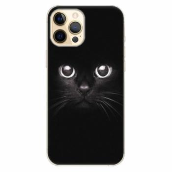 Plastové pouzdro iSaprio - Black Cat - iPhone 12 Pro Max