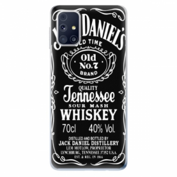 Odolné silikonové pouzdro iSaprio - Jack Daniels - Samsung Galaxy M31s
