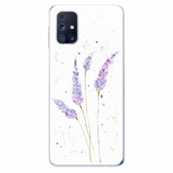 Odolné silikonové pouzdro iSaprio - Lavender - Samsung Galaxy M31s