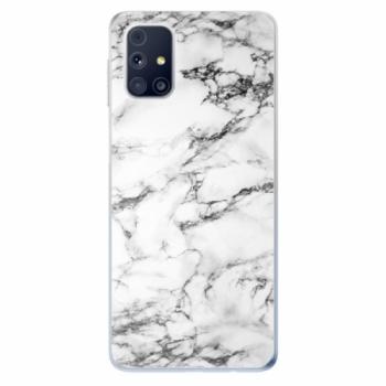 Odolné silikonové pouzdro iSaprio - White Marble 01 - Samsung Galaxy M31s