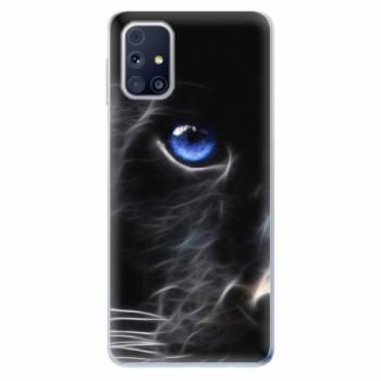 Odolné silikonové pouzdro iSaprio - Black Puma - Samsung Galaxy M31s