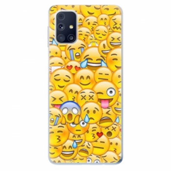 Odolné silikonové pouzdro iSaprio - Emoji - Samsung Galaxy M31s