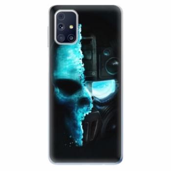 Odolné silikonové pouzdro iSaprio - Roboskull - Samsung Galaxy M31s