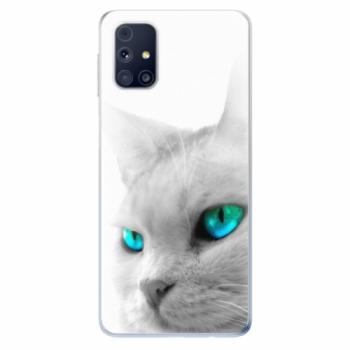 Odolné silikonové pouzdro iSaprio - Cats Eyes - Samsung Galaxy M31s