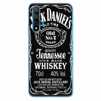 Odolné silikonové pouzdro iSaprio - Jack Daniels - Huawei Nova 5T